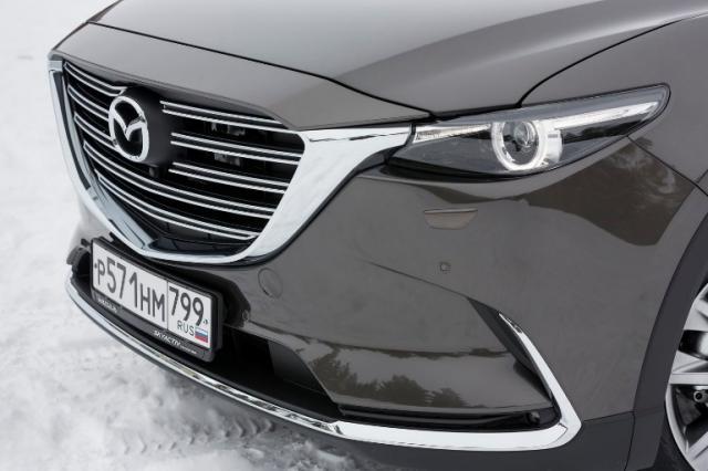 Тест Mazda CX-9. Фейслифтинг без фейслифтинга
