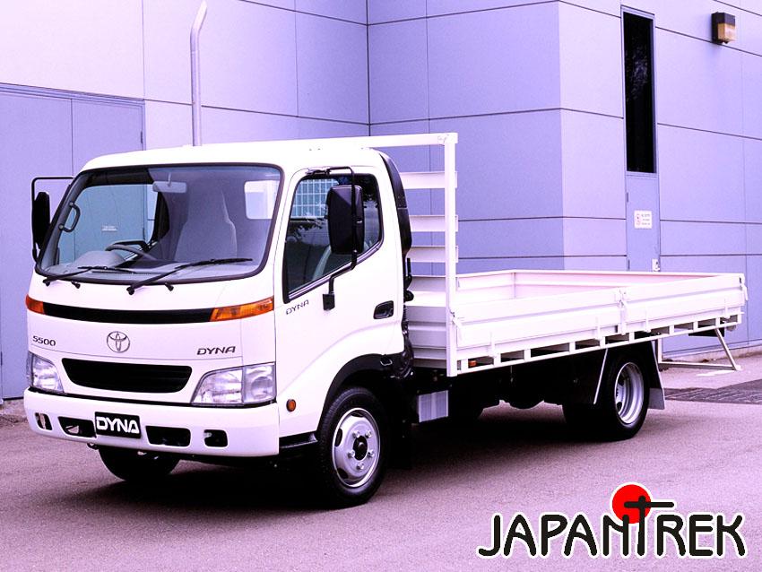 Аукционы Японии Toyota Dyna