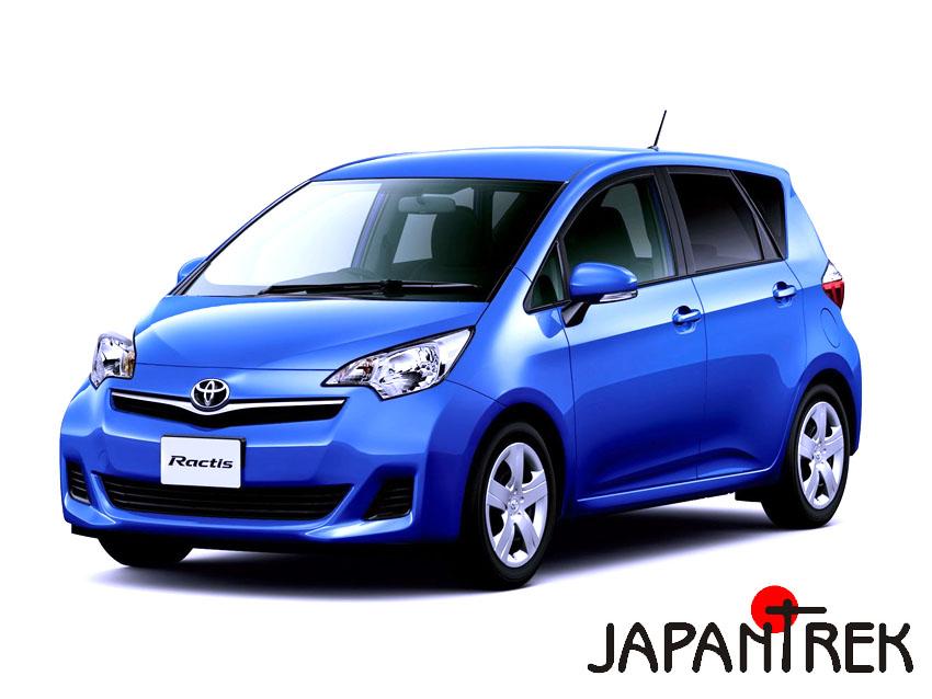 Аукционы Японии Toyota Ractis Тойота Рактис