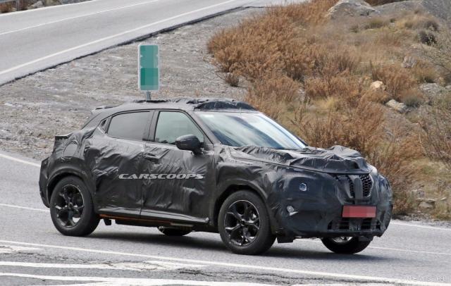 Новое поколение Nissan Juke снова заметили на испытаниях.